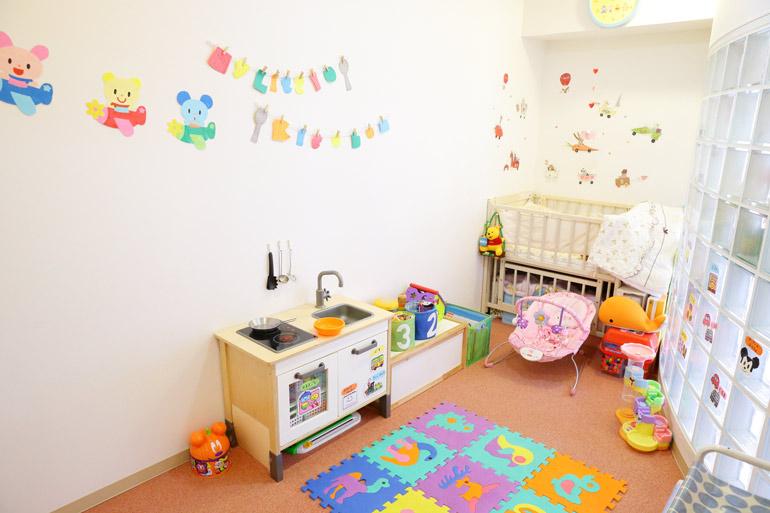 保育士が常駐する託児室